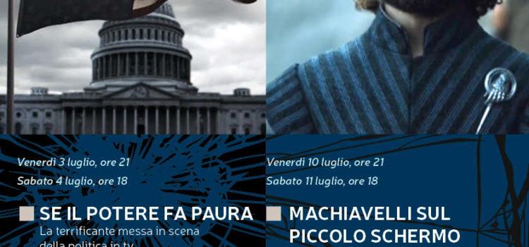 """""""Attraverso lo specchio"""" delle serie tv: due nuovi incontri con Jacopo Bulgarini d'Elci"""
